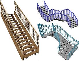 Progettazione scale pubbliche design casa creativa e mobili ispiratori - Dimensionamento scale interne ...